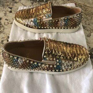 Christian Louboutin flat shoes
